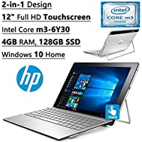 2017 HP Flagship Spectre X2 Detachable 2-in-1 12 IPS Full HD Touchscreen Laptop/Tablet (Intel Dual-Core M3, 4GB RAM, 128GB SSD, 802.11ac, Bluetooth, Windows 10)