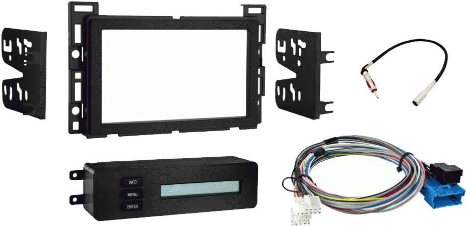 Amazon.com: Compatible with Chevy Malibu 2004 2005 2006 2007 Double DIN  Stereo Harness Radio Install Dash Kit New: Car Electronics | 2004 Chevrolet Malibu Wiring Harness |  | Amazon.com