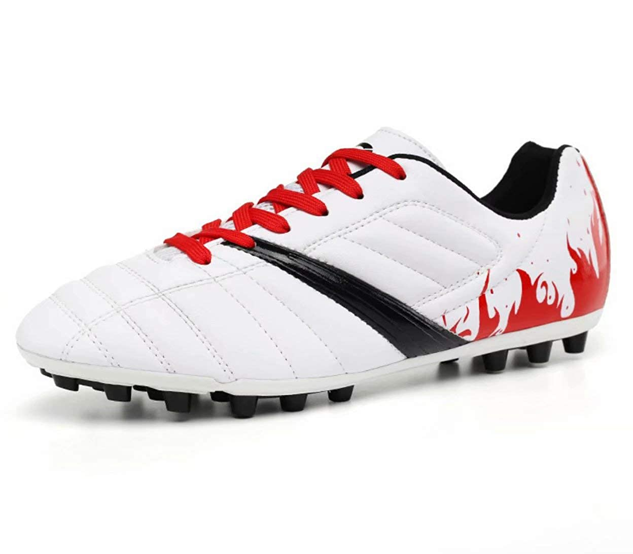 Little Kid//Big Kid Aulens Kids Outdoor//Indoor Soccer Shoes Athletic Soccer Cleats Football Boots Shoes