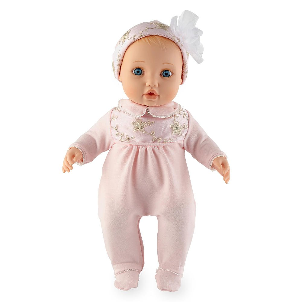 amazon com you me baby so sweet blonde 16 inch nursery doll toys