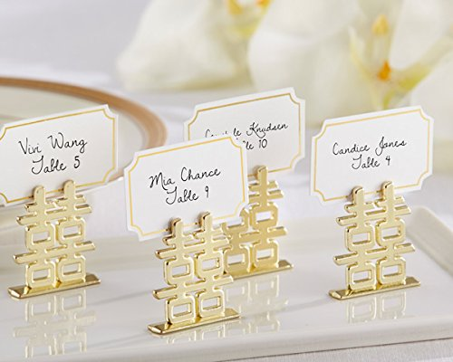 108 ''Double Happiness'' Place Card Holders by Kate Aspen