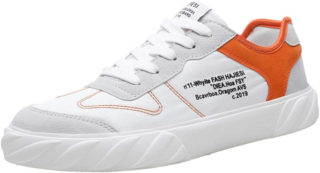 ITCHIC - Zapatillas de Running para Hombre, de Malla, Transpirables, Zapatillas de Running al Aire Libre, para Hombre, de Tela Hip-Hop Selvagge 39-44 Blanco Size: 42 EU: Amazon.es: Zapatos y complementos