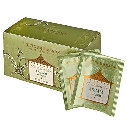 Fortnum & Mason British Tea, Assam Superb, 25 Teabags