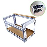 Refoss 6 GPU Open Air Mining Rig Case for Crypto Currency Frame Ethereum Zcash Monero