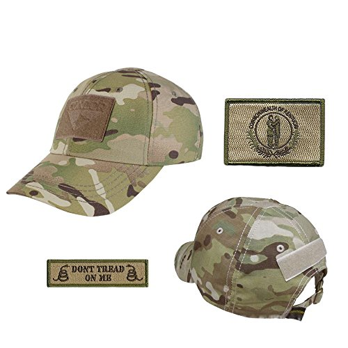 US State Operator Cap Bundle - With State & Dont Tread On Me Patches - Kentucky