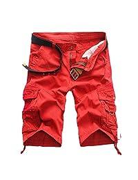 Zoe Fashion Men's Twill Cargo Shorts