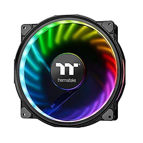 Thermaltake Riing Plus 20 RGB TT Premium Edition WITHOUT Controller 200mm  Software Enabled Circular 12 LEDs Sets (24 Addressable LEDs) RGB Single  Pack