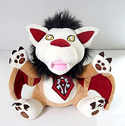 Aimee brillo de World of Warcraft wow viento Rider cachorro de peluche, 15inch