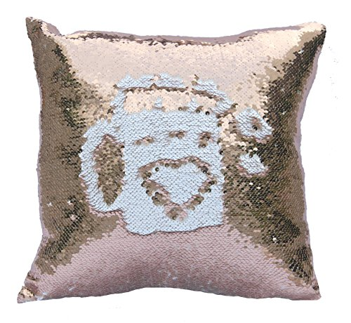 boobei two colors reversible sequins mermaid pillow cases import it all. Black Bedroom Furniture Sets. Home Design Ideas