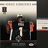 Autographed/Signed John Ross III Cincinnati Bengals 8x10 Football Photo PSA/DNA COA Auto