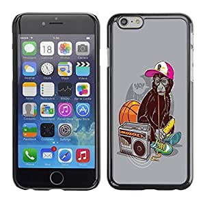 iPhone 6 Case, WBowen Six Cute Moustache PC Protective Hard Plastic Case Cover for iPhone 6