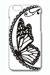 Brian114 The Butterfly Pattern Phone Case for the iPhone 6 Plus 3D