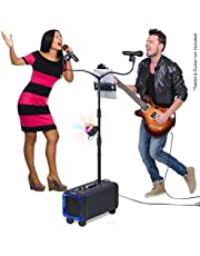 $99 » Karaoke Machine for Adults and Kids, Bluetooth Portable Singing PA Speaker System