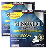 New Kirkland Signature Hair Regrowth Treatment Minoxidil Foam for Men; 6 Packs