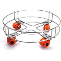 Anvel® Gas Cylinder Trolley with Wheels - Stainless Steel - Durable & Long Lasting