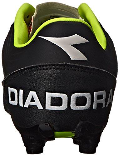 Diadora Mens Italica 3 K Pro Soccer Cleat Black/White tc72pBPHe