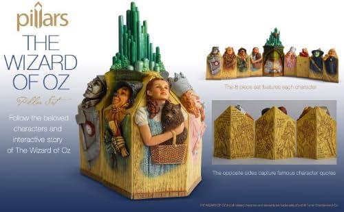 Enesco Pillars Wizard of Oz 9pc set Kim Lawrence 2013
