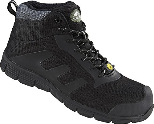 Rock Fall TeslaDri RF120 Vegan Friendly Black S3 ESD Composite Toe Safety Boots …
