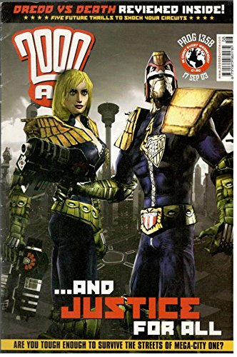 Download 2000 AD Magazine September 17,2003 ebook