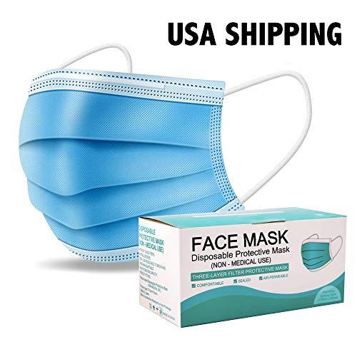 50 PCS Disposable Face