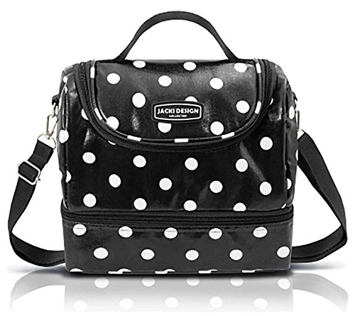 jacki-design-polka-dot-insulated-lunch-bags-for-women-and-girls-with-freezer-pack-enjoy-a-fresh-and-