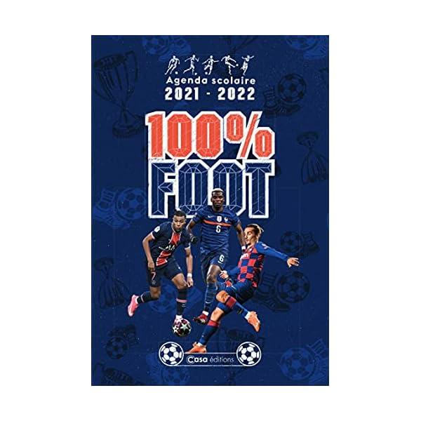 Agenda scolaire : Foot 2021-2022 1