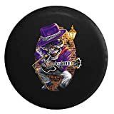 Blues Skeleton - Johnny Bones in Smokey Club Jam SessionSpare Tire Cover Black 29 in offers