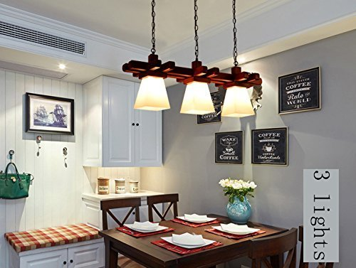 (In A Japanese Style Lights Balcony Corridor Is Obvious, Is Obvious, Is Obvious To A Corridor Floor Veranda Light Derived From Wood South East Asian American Restaurant Three Artistic Chandeliers Chand)