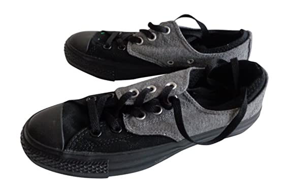 f897c79d8017 Unisex All Star Converse Casual Trainers Black Charcoal Size UK 5 EU ...