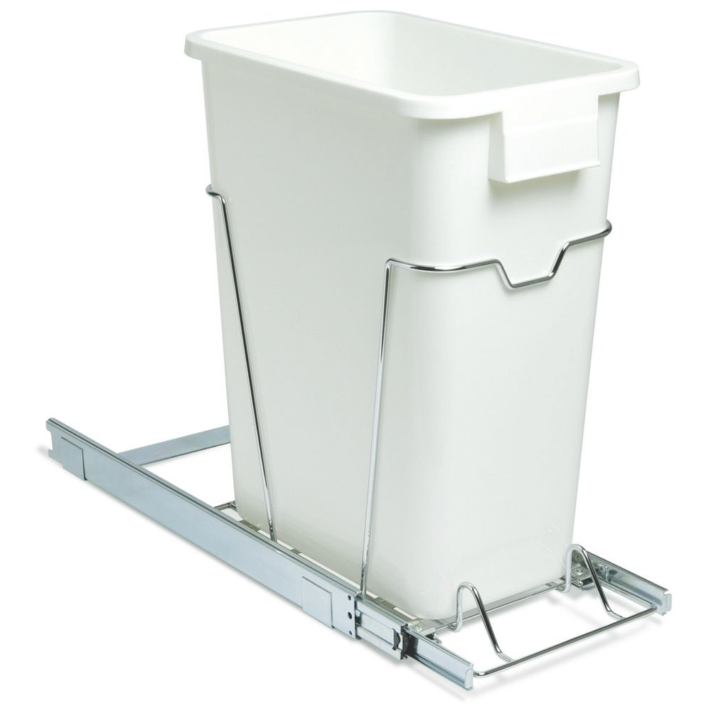 Amazon.com: Household Essentials Under Cabinet Sliding Trash Can Caddy,  Holds One 9 Gallon Waste Can: Home U0026 Kitchen