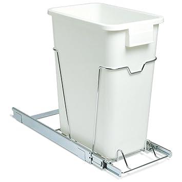 Amazon.com: Household Essentials Under Cabinet Sliding Trash Can ...
