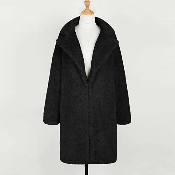 Amazon.com: DICPOLIA Womens Plus Size Long Jackets Winter Coats Thicker Sweater Coat Overcoat Outwear: Clothing