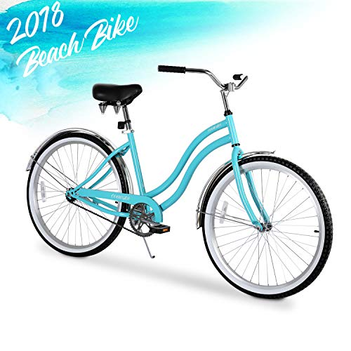 ENSTVER Urban Lady Beach Cruiser Bicycle