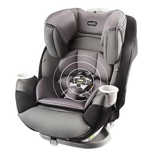 Evenflo SafeMax All-in-One Car Seat with SensorSafe, Industrial Edge