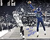 """Richard Sherman Autographed 16x20 Photo Seattle Seahawks """"The Tip 1/19/14"""" The Tip RS Holo Stock #78960"""