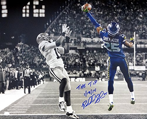 Richard Sherman Autographed 16x20 Photo Seattle Seahawks