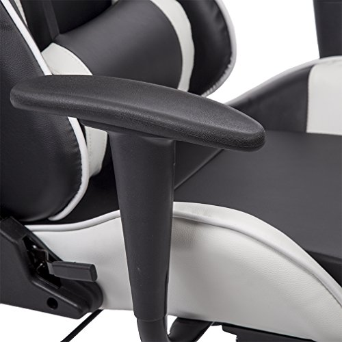Office Chair High-back Recliner Office Chair Computer Chair Ergonomic Design Racing Chair by BestOffice (Image #1)