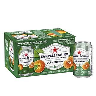 Sanpellegrino Clementine Italian Sparkling Drinks, 11.15 fl oz. Cans (6 Count)