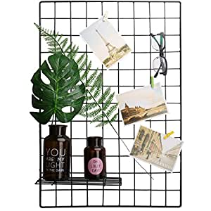 wall grid organizer kleanner metal wire mesh grid panel mesh memo 3311