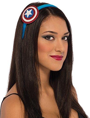 Rubie's Costume Co Women's Marvel Universe American Dream Head Band, Multi, One Size