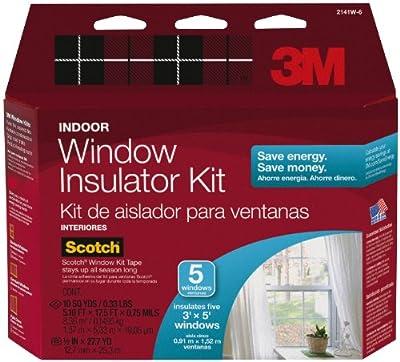 "3M Indoor Window Insulator Kit, 62"" x 210"""