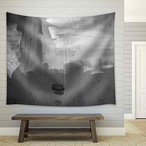 Grunge Concrete Wall Fabric Wall
