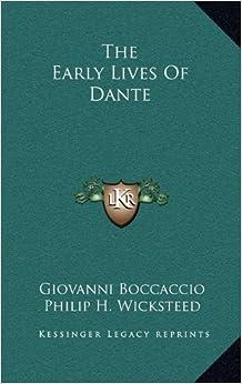 Descargar Libros The Early Lives Of Dante PDF Android