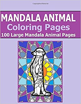 Mandala Animal Coloring Pages 100 Large Mandala Animals
