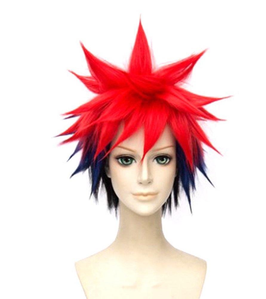Amazon.com: springcos Shokugeki No Soma Yukihira Souma Wig Cosplay Short Wigs Ombre: Beauty