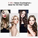Curling Iron 1.25-inch Instant Heat with