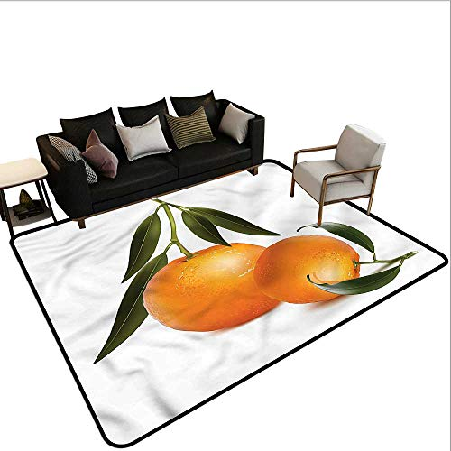 Green and Orange,Multi-USE Floor MAT 48