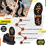 Jack Walker Bottes de Marche imperméables légères et Respirantes Chaussures pour la randonnée et Les Trek JW9255 7