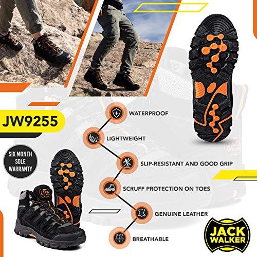Jack Walker Bottes de Marche imperméables légères et Respirantes Chaussures pour la randonnée et Les Trek JW9255 2