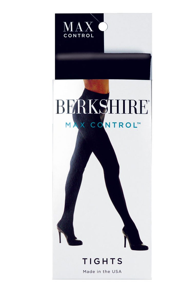 Berkshire Women's Max Control Tight with Shaper Top, Black, Tall